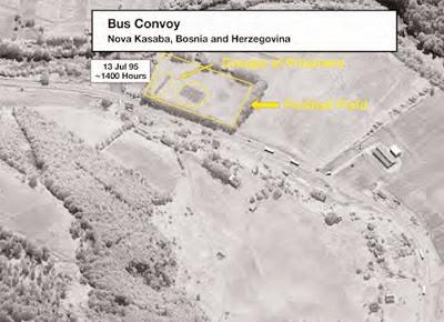 Srebrenica Genocide Satellite Images Nova Kasaba