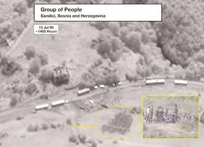 Srebrenica Genocide Satellite Images Sandici