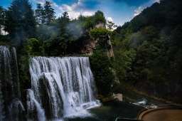 Jajce Waterfalls